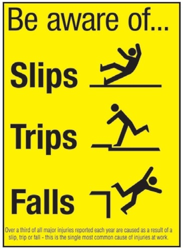 SLIPS, TRIPS AND FALLS SAFETY