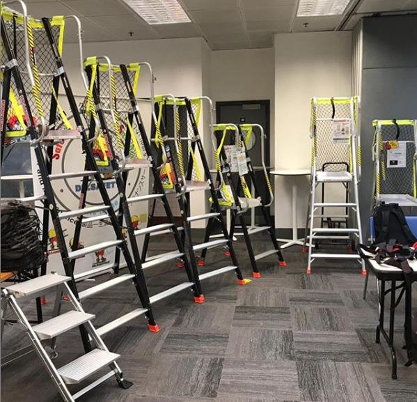 Why you choose U-SAFE Platform Ladder?